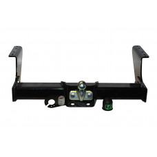 Fixed Flanged Towbar For Fiat Ducato Van, Pick Up Model With Parking Sensors, 4X4 1994-2006